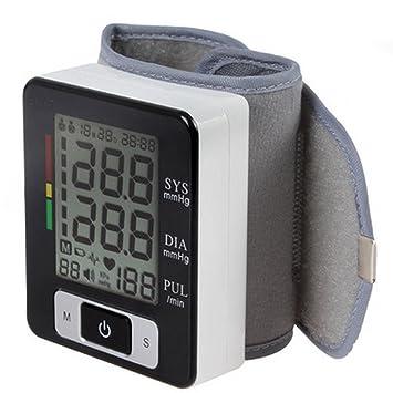 Monitor de presión arterial de muñeca LU2000, Probador digital portátil de BP digital, Indicador