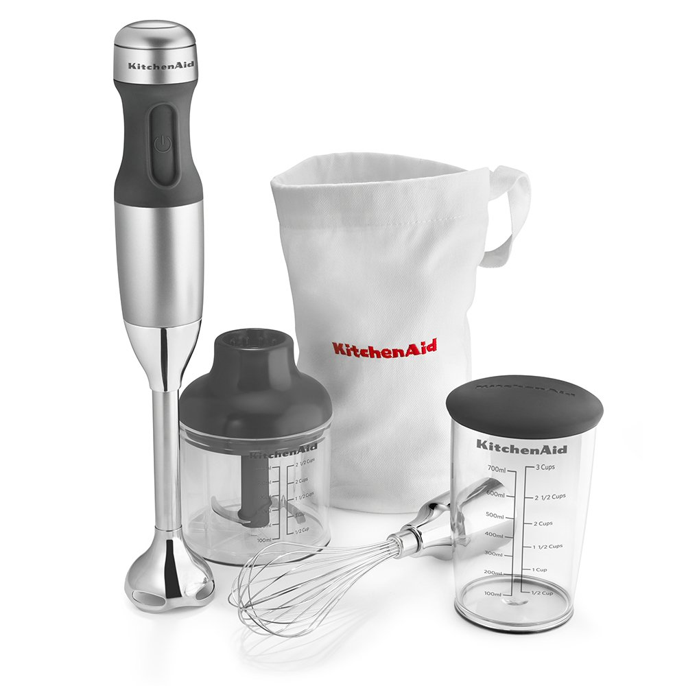 KitchenAid KHB2351CU 3-Speed Hand Blender - Contour Silver by KitchenAid