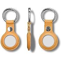 AirTag-fodral för AirTag 4 delar per förpackning 4 olika färger (brunaktig gul)