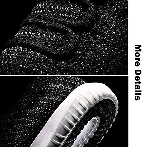 Hommes Noir Respirant Antichoc Camel Maille Léger Course Sport Baskets Marche Chaussures De fPndwTq