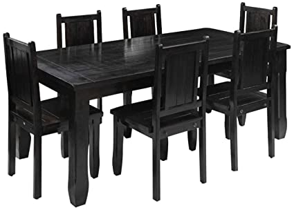 Excellent Royal Oak Jade Six Seater Dining Table Set Mahogany Home Interior And Landscaping Ologienasavecom