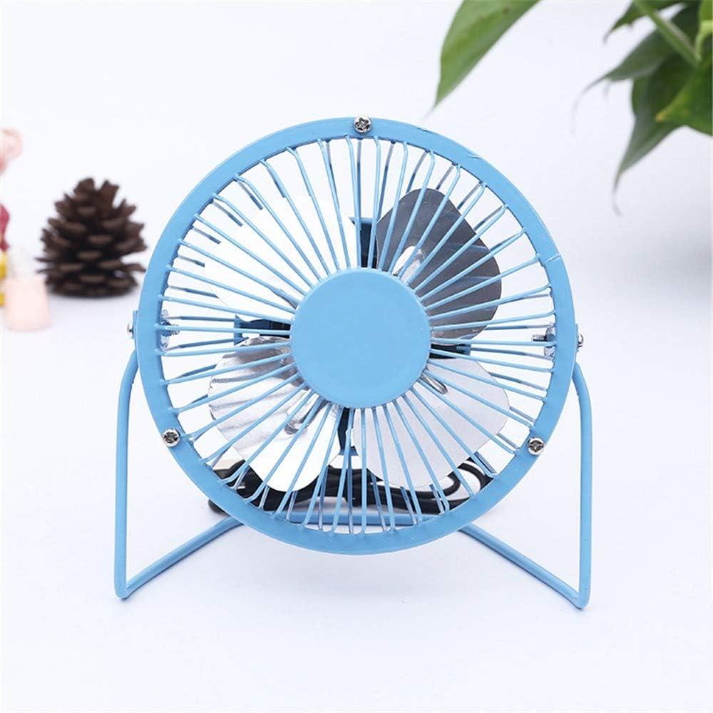 ZQ Portable USB Charging rotatable Small Fan,Student Dormitory Office Computer Desktop Desktop Fan,D