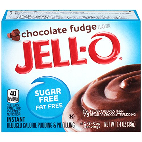 JELL-O Chocolate Fudge Instant Pudding & Pie Filling Mix (1.4 oz Box) (Chocolate Fudge Instant Pudding And Pie Filling Mix)