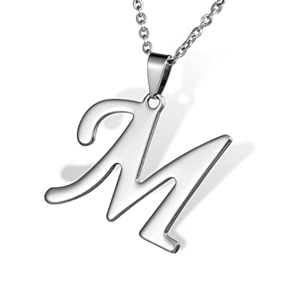 12160974bd5 HOUSWEETY Collier Pendentif Lettre Initial