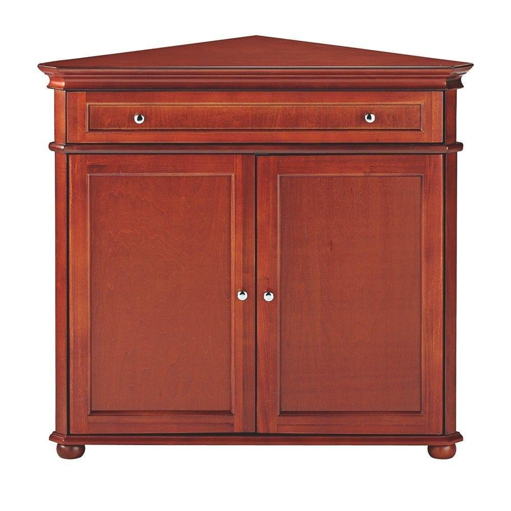 Home decorators collection hampton bay 72 in h x 25 in w 6 door tall - Amazon Com Hampton Bay 32 W Corner Cabinet With Two Wood Doors Wood Doors White Kitchen Dining