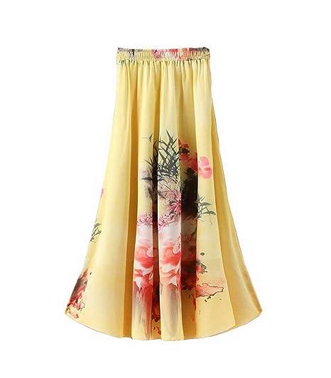 Faldas De Las Moda Mujeres Casual Joven Suelta Falda De Especial ...