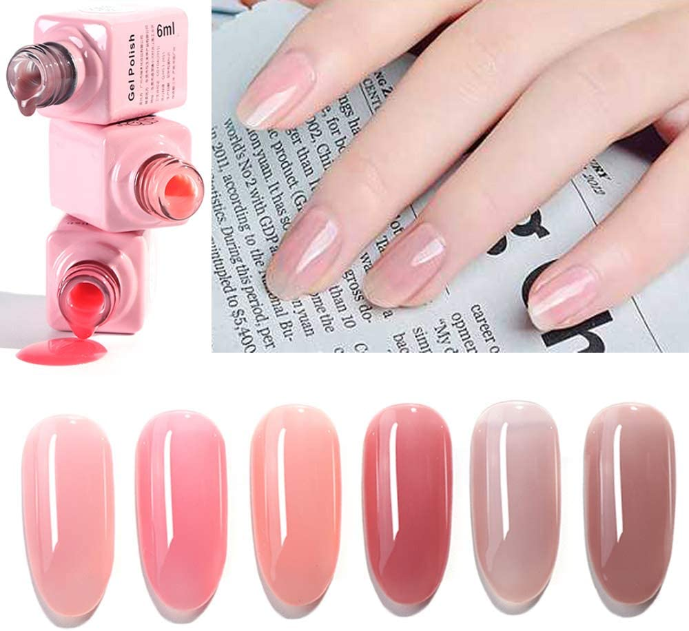 Matte Pink Gel Nail Polish - Nail and Manicure Trends