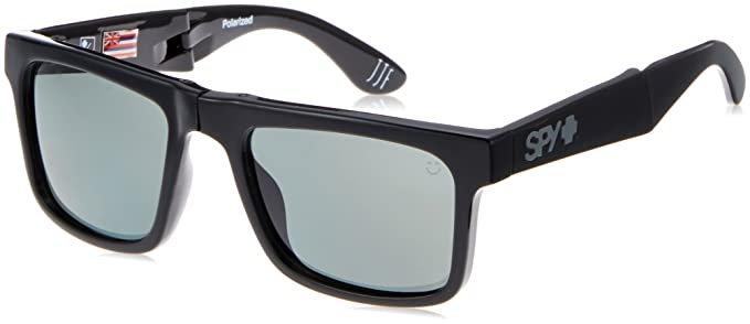 236e1730e4 Image Unavailable. Image not available for. Colour  Spy Optic The Fold  673174034864 Polarized Flat Sunglasses