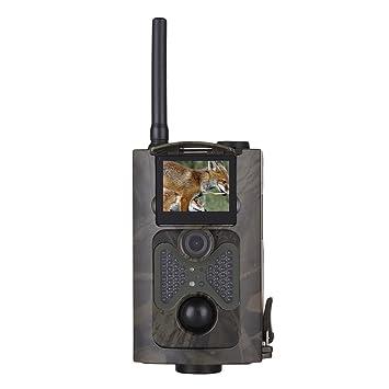 Juego de cámara WILDLIFE, 1080p HD Trail Cámara 16 Mp Cámara de vigilancia con 3