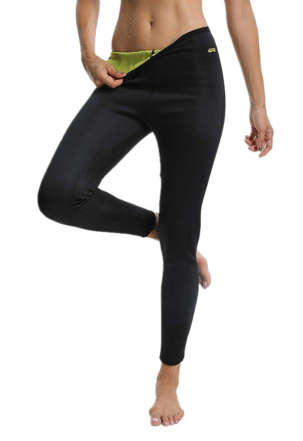 26 opinioni per FITTOO Pantaloni Sauna Dimagranti Donna Leggins Sportivi Fitness Sauna Pants Hot