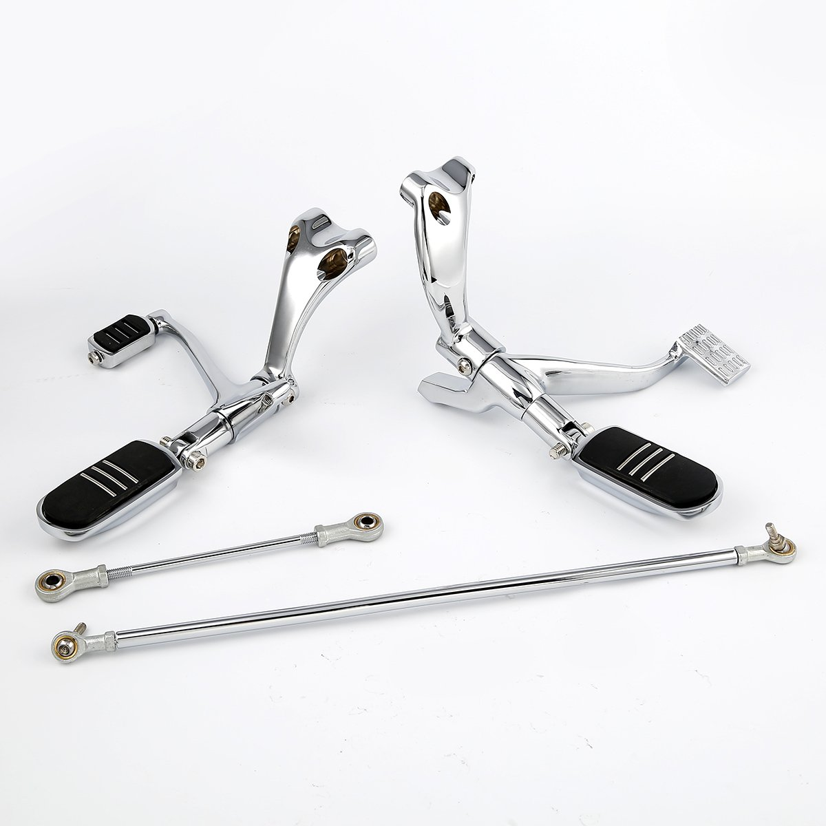 XMT-MOTO Forward Controls W//Pegs Linkage For Harley Sportster 883 1200 XL Custom 2004-2013