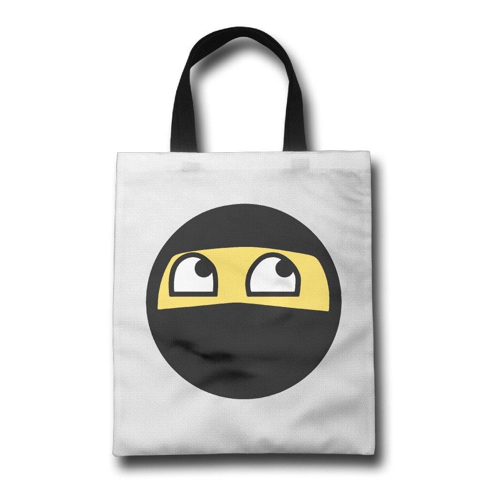 Fashion Funny Ninja Cara Emoji Big Face máscara reutilizable ...