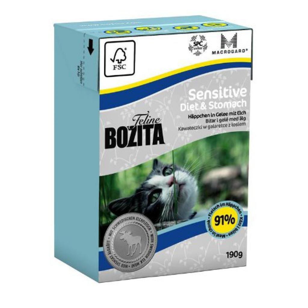 bozita Feline Diet + Stomach de Sensitive 190 g: Amazon.es: Productos para mascotas
