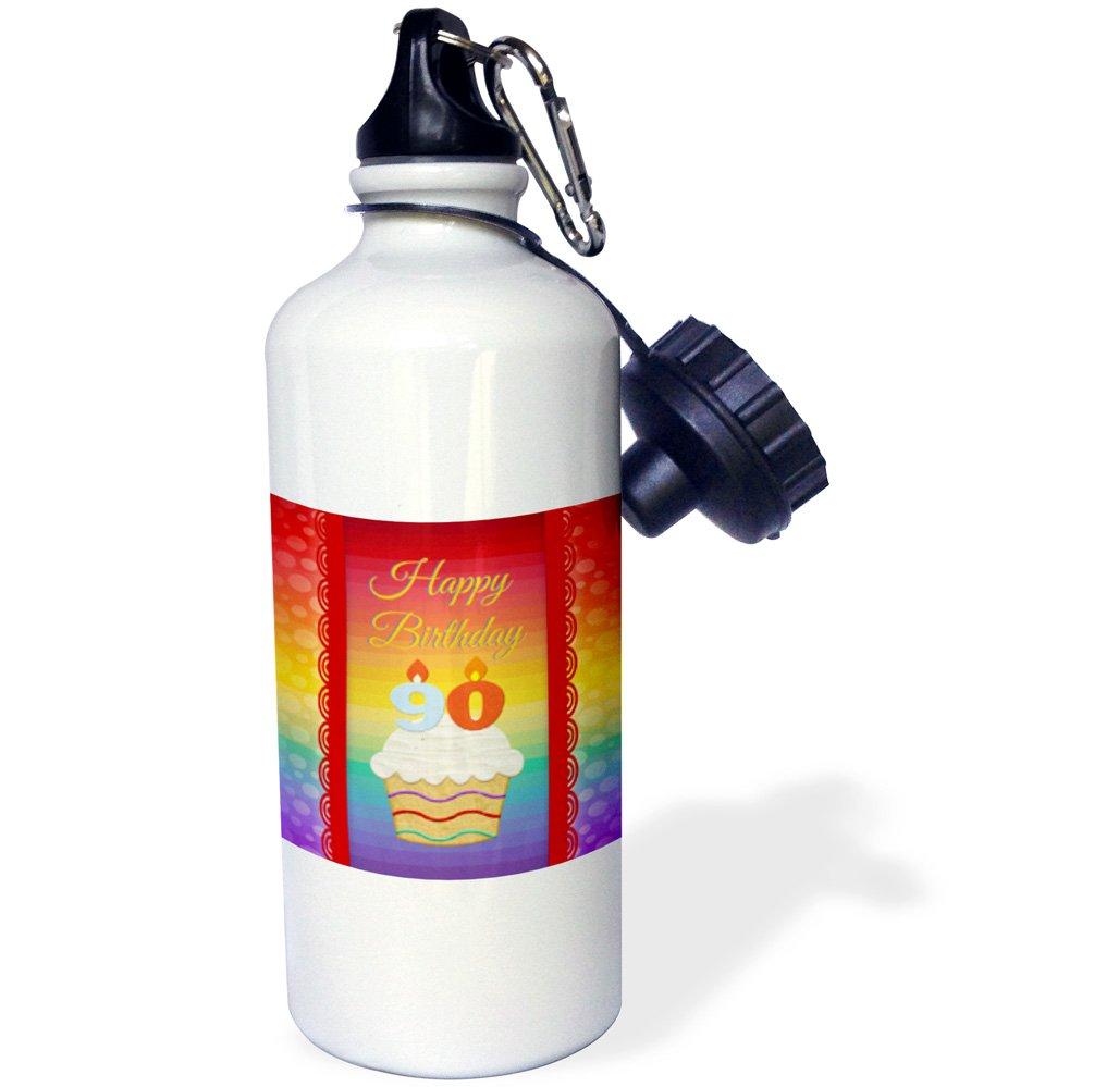 3D Rose 2 wb/_244859/_2 Flip Straw Water Bottle 21 oz