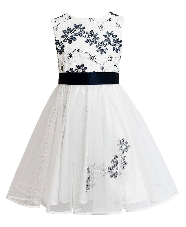 Wunderbar Mädchen Weiß Partykleid Bilder - Brautkleider Ideen ...