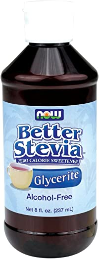 Now Foods BetterStevia Glycerite – 8 oz. 8 Pack
