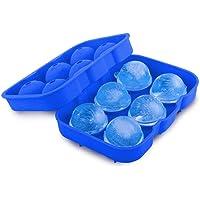 Forma de Gelo Formato Bola Silicone Faz 6 Bolas de Gelo - 130710