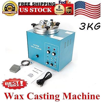 Amazon com: Vacuum Wax Injector, Digital 3KG Vacuum Wax