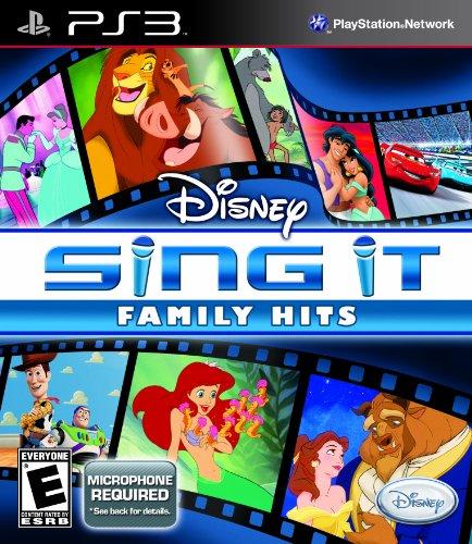 Disney Sing It: Family Hits - Playstation 3 (Singstar Blue Microphone)