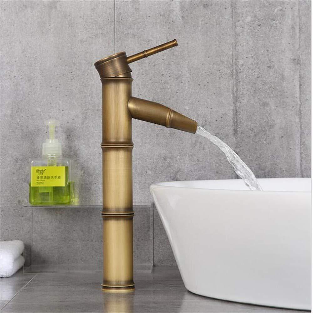 Basin Mixer Tap Bamboo Faucet Hotel Brass Faucet Brass Sterilization Environmental Predection Faucet