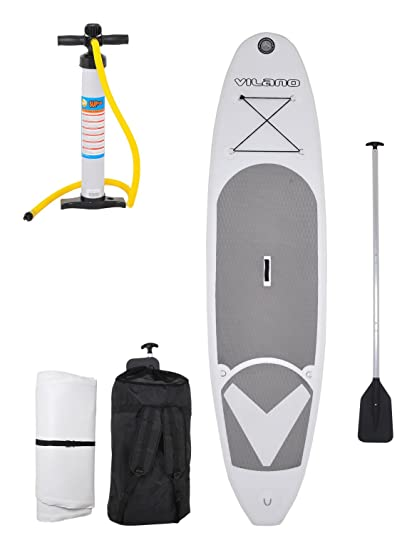 Amazon.com: Vilano Viaje 10 Inflatable Sup Stand Up Paddle ...