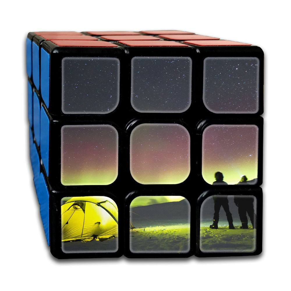 AVABAODAN Tent Rubik's Cube Custom 3x3x3 Magic Square Puzzles Game Portable Toys-Anti Stress For Anti-anxiety Adults Kids