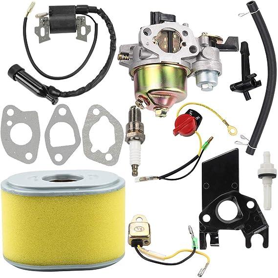 Amazon.com: Dalom GX160 Carburador + Bobina de Encendido + ...
