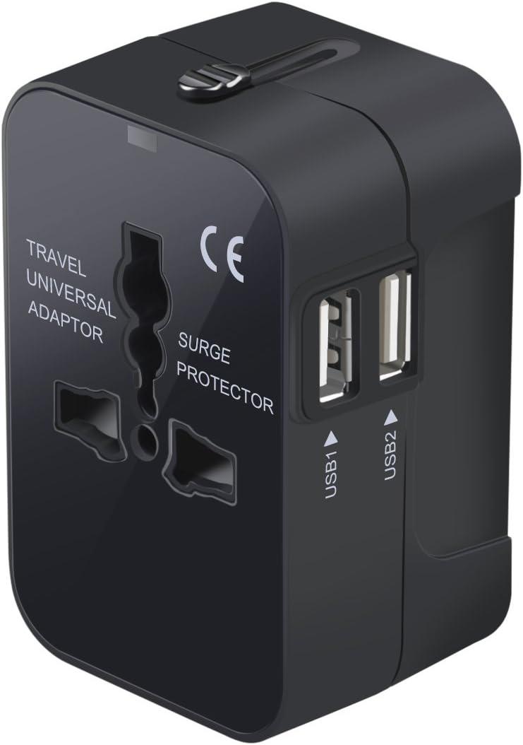 Fujifilm World Trip Dual USB Charger and Travel Adaptor Green