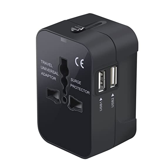 a71fc24cafdd59 Travel Adapter, Worldwide All in One Universal Travel Adaptor Wall AC Power Plug  Adapter Wall