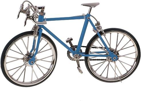 non-brand Modelo Bicicleta de Carrera para Casa de Muñeca Escala 1 ...