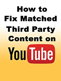 Matched Third Party Content YouTube