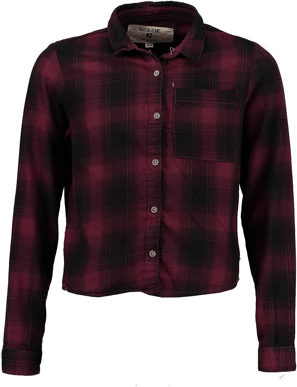 Garcia Niña Camisa de Cuadros, Rojo Vino U62432: Amazon.es: Ropa y accesorios