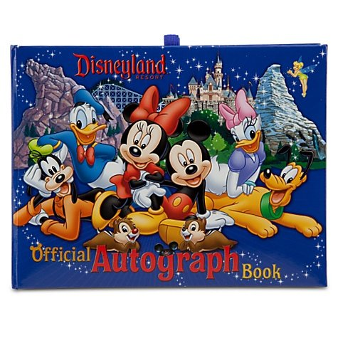 Disneyland Resort Exclusive Official Autograph Book by DISNEY PARKS