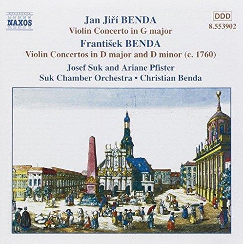 Benda: Violin Concertos