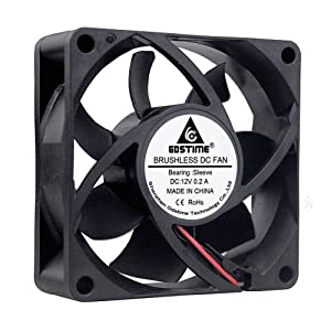 GDSTIME 7025 70mm x 70mm x 25mm 12V DC Brushless Cooling Fan