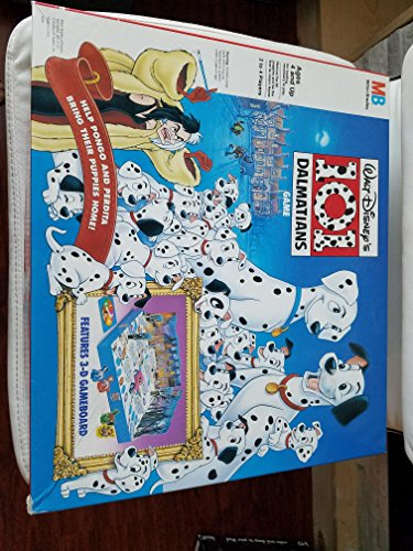 Disney's 101 Dalmatians Game Features 3D Gameboard (Dalmatians Board Game 101)