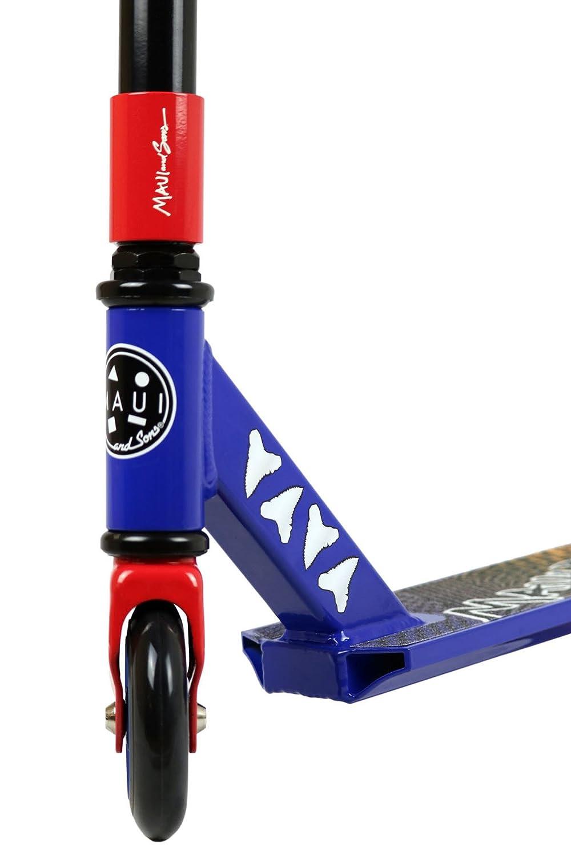 Maui y Sons azul/rojo Twister Scooter: Amazon.es: Deportes y ...