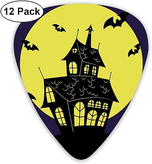Cavdwa Haunted House Vector - Juego de 12 púas para Guitarra (0,96 ...