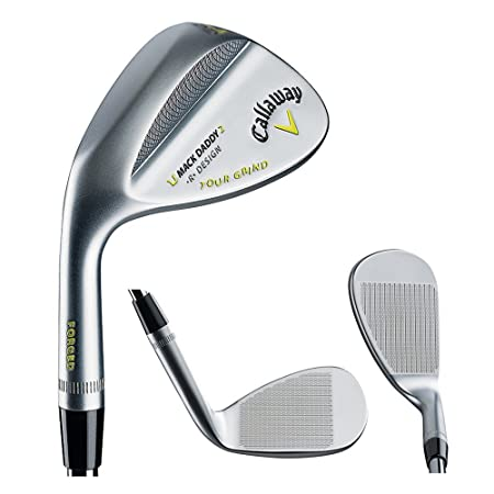 Callaway Golf- LH Mack Daddy 2 Tour Grind Chrome Wedge Left Handed