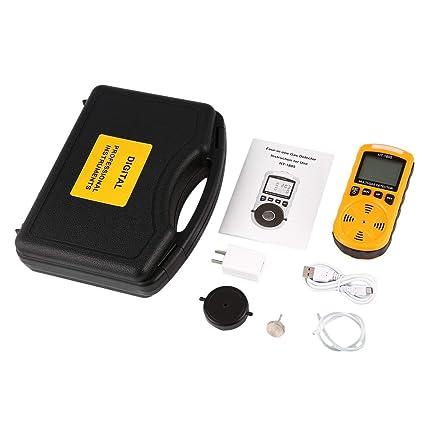 4 en 1 O2 H2S CO LEL Detector de Gas Combustible Muestreador de Gas Bomba Oxígeno