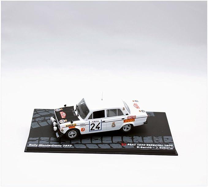 Coches Rally IXO 1:43 1/43 SEAT 1430 1800 GR 4 1977 Servia-Sabater RAL102: Amazon.es: Juguetes y juegos