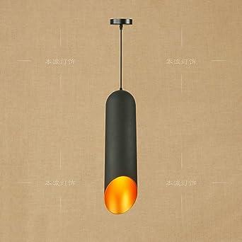 Beau XSPWXN Lustres Noir En Fer Forgé Plafond Luminaires Suspendus, Métal  Minimaliste Lumière Pendentif, Edison