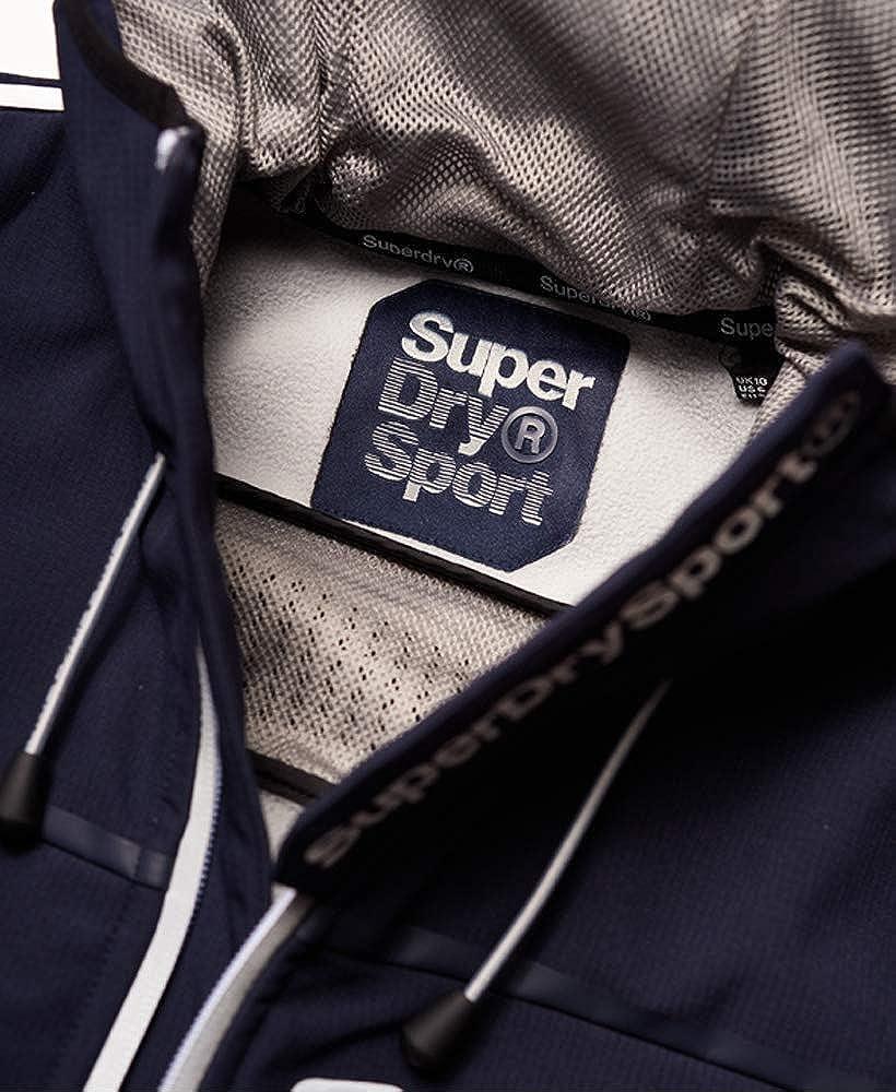 Superdry Womens Polar Team Sport Trakker Jacket Navy