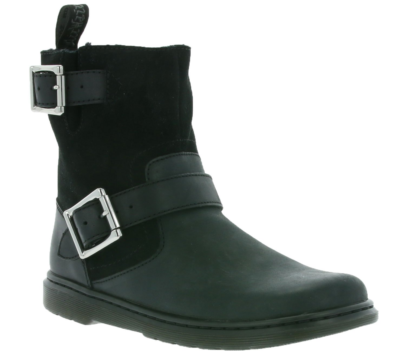 Dr. Martens Women's Gayle Fl Winter Boot B01MY2PTM1 8.5 B(M) US|Schwarz