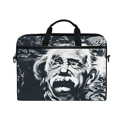 eae7b042921a Amazon.com: Laptop Computer Bag Sleeves 15 15.4 Inch Albert Einstein ...