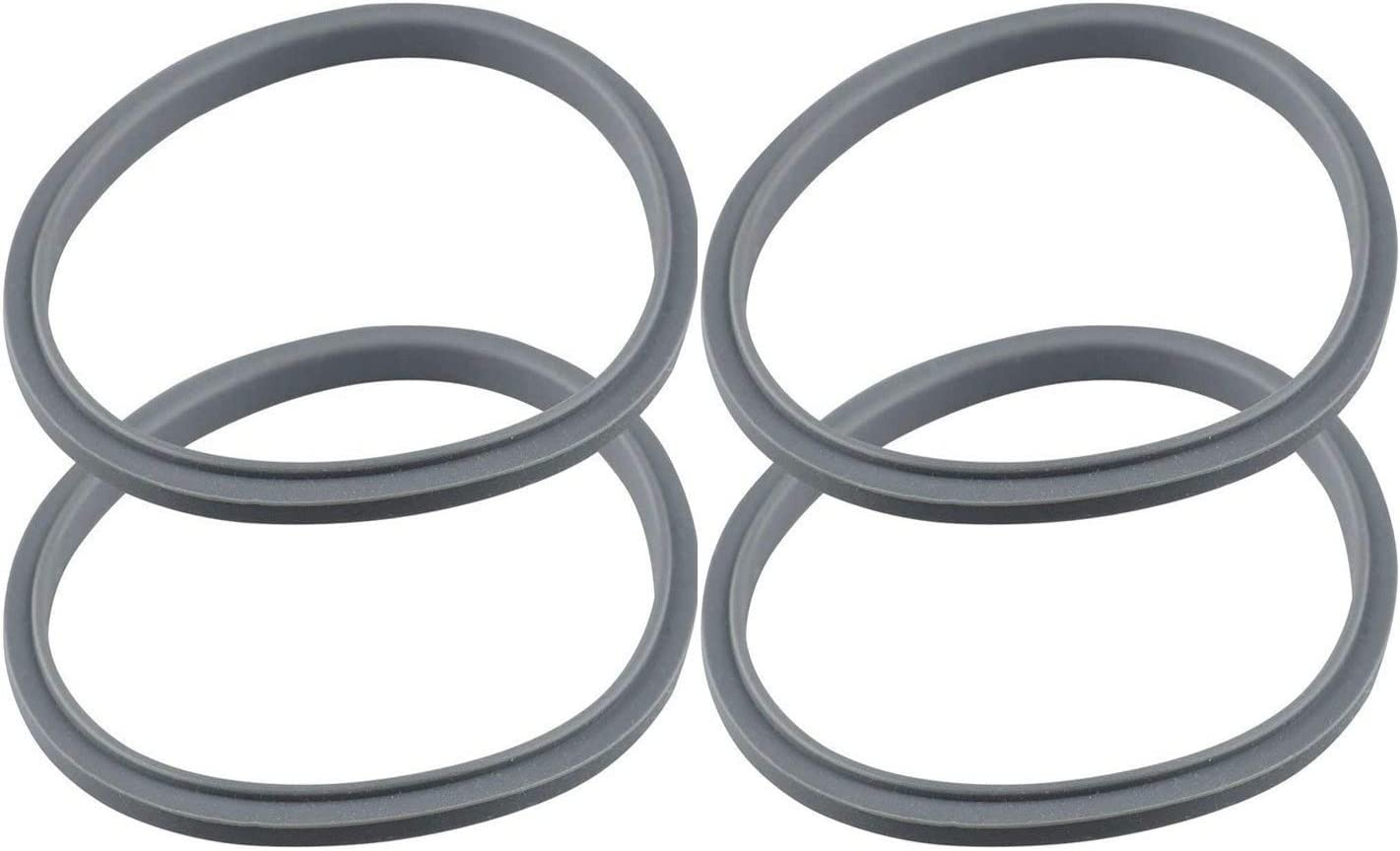 BidiHome 4 Pack Gasket Replacement Parts Compatible with Nutribullet 600W – 900W High-Speed Blender/Mixer System Replacement Parts & Accessories