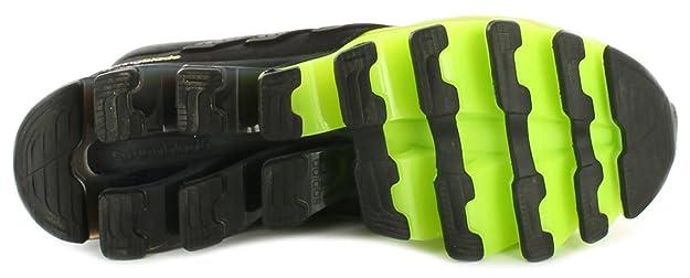 big sale b98b4 83dde adidas - Sandali con Zeppa Uomo, Nero (Nero Giallo Fluo), 44 EU  Amazon.it   Scarpe e borse