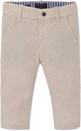 Mayoral Pantalón de lino para niño.