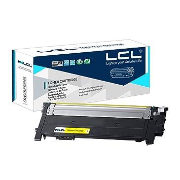 LCL Compatible Cartucho de tóner CLT-404S CLT-Y404S (1 Amarillo ...