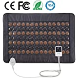 """UTK Far Infrared Tourmaline Heating Pad for Back Pain Relief - Infrared Therapy Heating Pads - Medium T-Pro (31"""" X 21""""), Auto Shut Off and Travel Bag Included"""